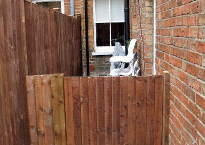 York St Garden - new gate