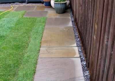 York St Garden - new pathway